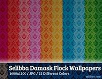 Damask Flock Wallpaper #2