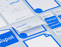 Mobispot Branding Visualization 3D