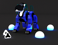 AIBO 3D RENDERING