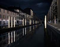Light Scenography - Naviglio Pavese
