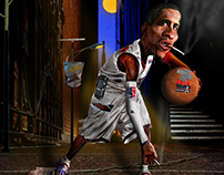 """Ally Hoops"" Photo Illustration/Manipulation"