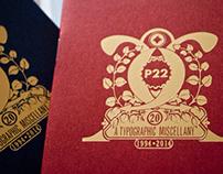 P22 Typographic Miscellany
