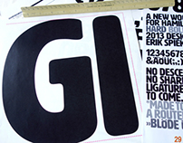 HWT Artz - Erik Spiekermann's Wood Type