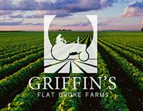Griffins Flat Broke Farms Branding