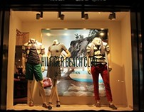 TOMMY HILFIGER SS14 WINDOW DISPLAY