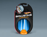Hot Wheels Ballistiks Packaging