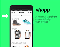 SHOPP Web App with a twist