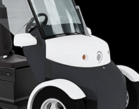ERMES | Electric quadricycle for goods transport