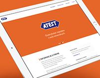 Atest Web concept version 2.0