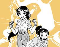 Shinobu and Sankichi