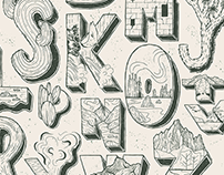 The Unofficial National Park Illustrated Alphabet