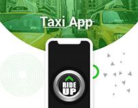 RideUP - Taxi App