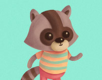 Caramba Friends - Character design