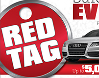 Red Tag Event Dealer Marketing Package