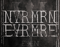 EDEN - NVRMRN Album Cover