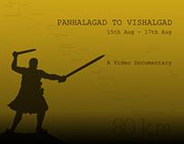 Hiking Documentary: Panhala fort to Vishalgad