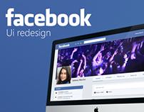 Facebook UI Redesign Concept