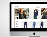 Visual identity & website - LauRie