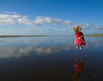 Christmas Day, beach farewell