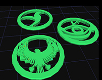 Spectacle 3D printable Game