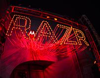 Motorola RZR Billboard