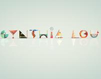 Cynthia Lou Letterform