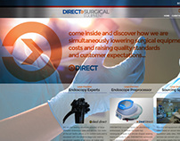 Direct Surgical Equipment Identity design