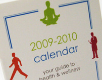 Wellness Guide Desk Calendar