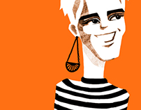 portrait of Edie Sedgwick