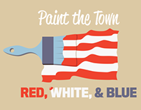 Paint the Town Red, White, & Blue (Concept)