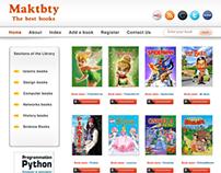 Maktbty Interface website