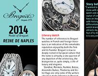 Breguet Editorial Design