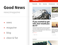Good News — News&Magazine Template