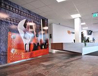 Ferm Werk interior, Woerden, the Netherlands