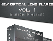 30 High Quality New Optical Flares Vol.1