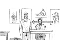 Art School Confidential Storyboard