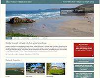 Forgotten Houses WordPress Design
