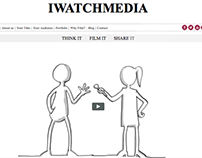 WordPress Custom Theme for iwatchmedia