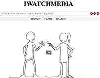 WordPress Custom Theme for iwatchmedia