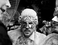 Venice Carnival 2014 BW
