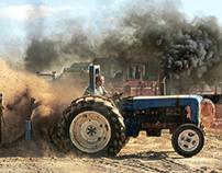 Travellers Tuggin' Tractors