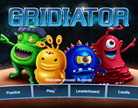 Gridiator - Game Art