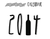 2014 Calendar for alcoholic