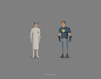 Dr Horrible and Captain Hammer