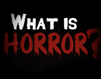 What is Horror? Short Animation