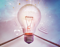 creativity Bulb - New ArtisNavi wallpaper
