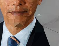 Low Poly Obama