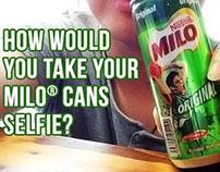 MILO Cans Malaysia Facebook wallpost Design