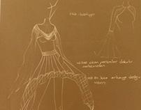 kraft paper sketches