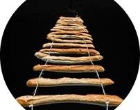 //Bread Ladder//     installation
